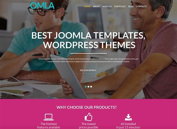 themes wordpress estudio diseño web